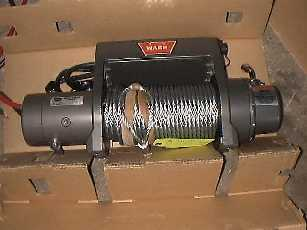 Unbox the winch.